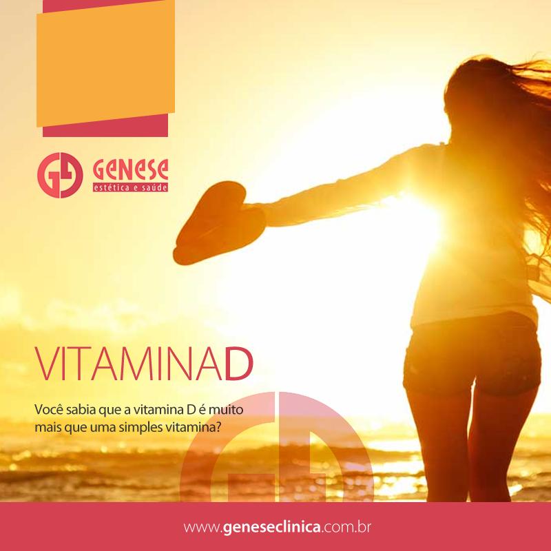 Você sabia que a vitamina D é muito mais que uma simples vitamina?